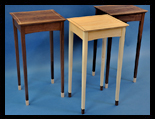 Side Tables in Walnut and Ash